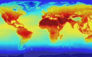 Cambiamento delle temperature dal 1880-2017